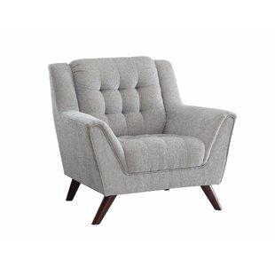 Brayden Studio Tarik Sophisticated Upholstered Armchair