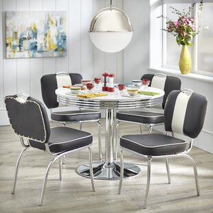 Sherly Retro 5 Piece Dining Set