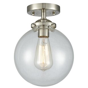Felica 1-Light Semi Flush Moun..