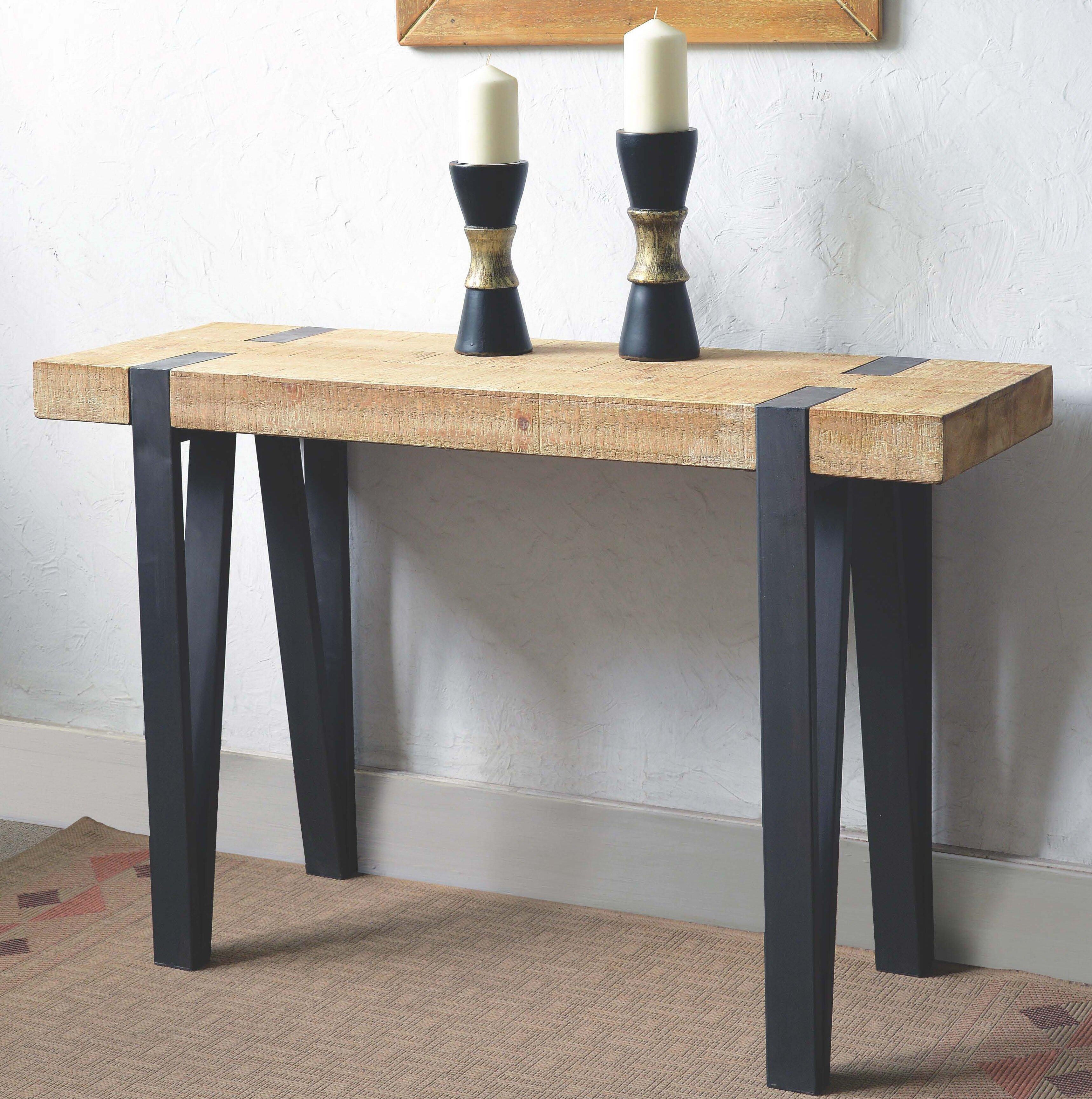 Foundry Select Zena Console Table Wayfair