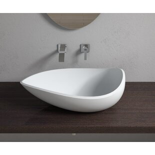 Compare prices Stone Specialty Vessel Bathroom Sink By InFurniture