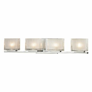 Elk Lighting Chiseled Glass 4-Light Vanity Light