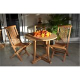 Descanso Bristol 3 Piece Teak Dining Set