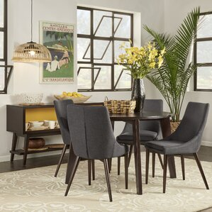 Carvell 5 Piece Dining Set
