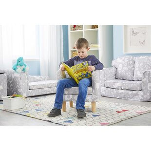 Fenderson Animal Camp Woodland Children's Club Chair By Zoomie Kids
