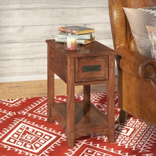 Barrett End Table With Storage Loon Peak