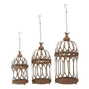 Gold Bird Cage Decor Wayfair