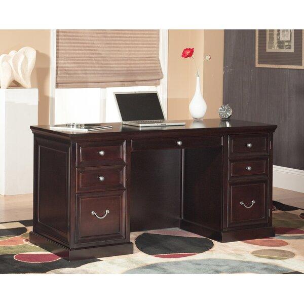 kathy ireland homemartin furniture fulton double pedestal