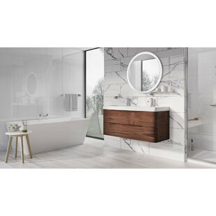Harleigh 1200mm Wall Hung Double Vanity Unit By Ebern Designs