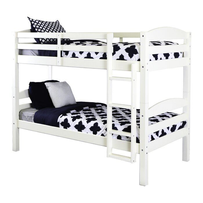 Viv Rae Abby Twin Over Twin Bunk Bed Reviews Wayfair Ca