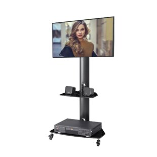 MultiFunction Metal Frame Floor Stand Mount for Great Than 50 Screens
