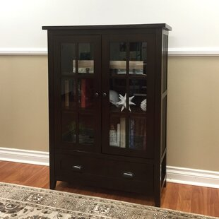 Fella 1-Drawer China Cabinet by Red Barrel Studio