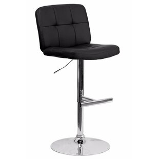 Reuben Adjustable Height Swivel Bar Stool