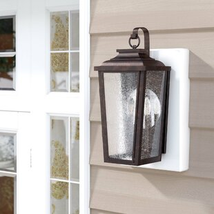 Three Posts Mayhugh 2-Light Outdoor Wall Lantern