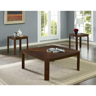 Winston Porter Sarang 3 Piece Coffee Table Set