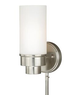 Find Tube Indoor Wall 1-Light Armed Sconce By Vaxcel
