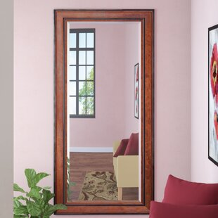 Darby Home Co Rustic Pine Beveled Wall Mirror