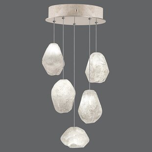 Natural Inspirations 5-Light Cluster Pendant by Fine Art Lamps