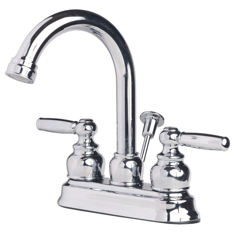 Lagunabrass Centerset Bathroom Faucet With Drain Assembly Reviews Wayfair