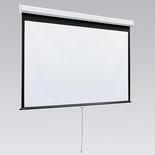Luma 2 with Ar Manual Gray Electric Projection Screen by Draper