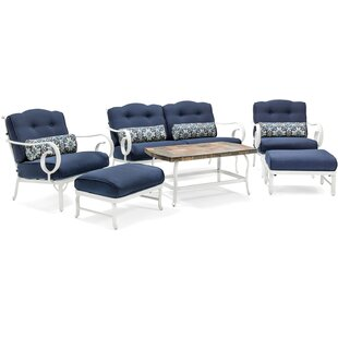 August Grove Galante 10 Piece Sofa Set with Cushions