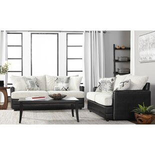 Meachum Ebony Configurable Living Room Set by House of Hampton