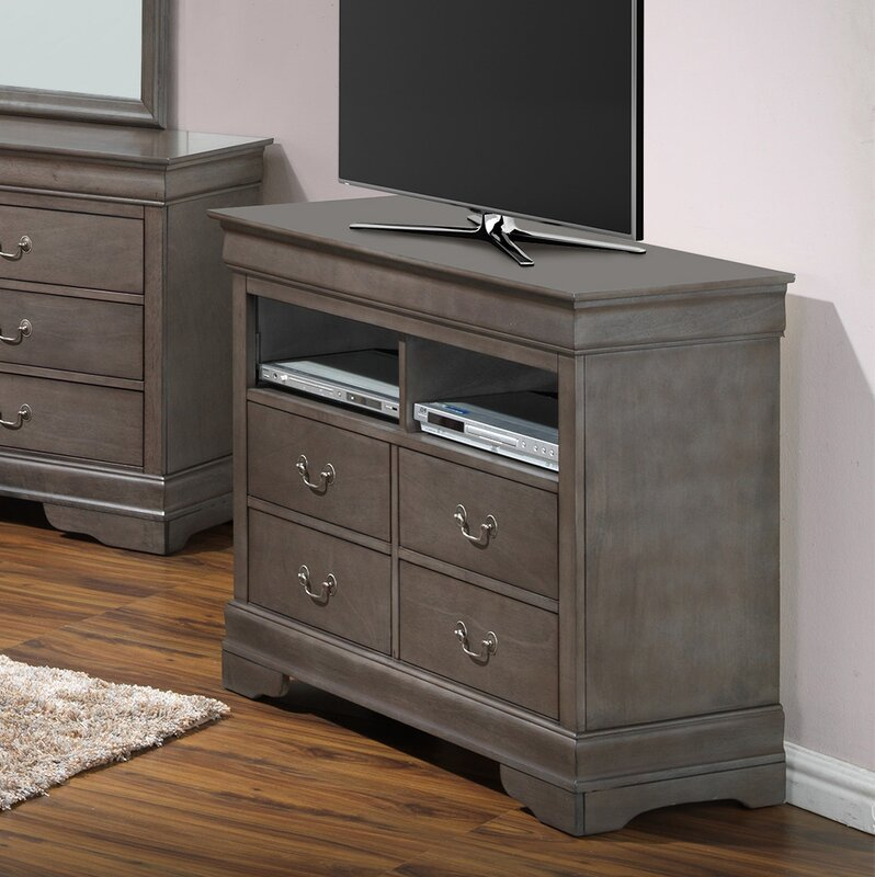 Awesome Corbeil 4 Drawer Media Chest