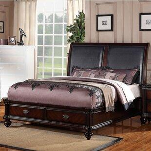 Balnamore Upholstered Storage Panel Bed