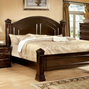Pratt Four Poster Bed by Alcott Hill