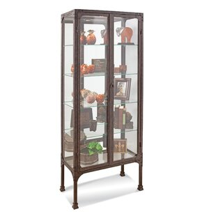 Whittlesey Lighted Curio Cabinet by Williston Forge