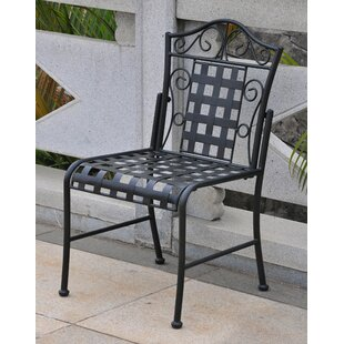 Alcott Hill Dalmatia Patio Dining Chair (Set of 2)