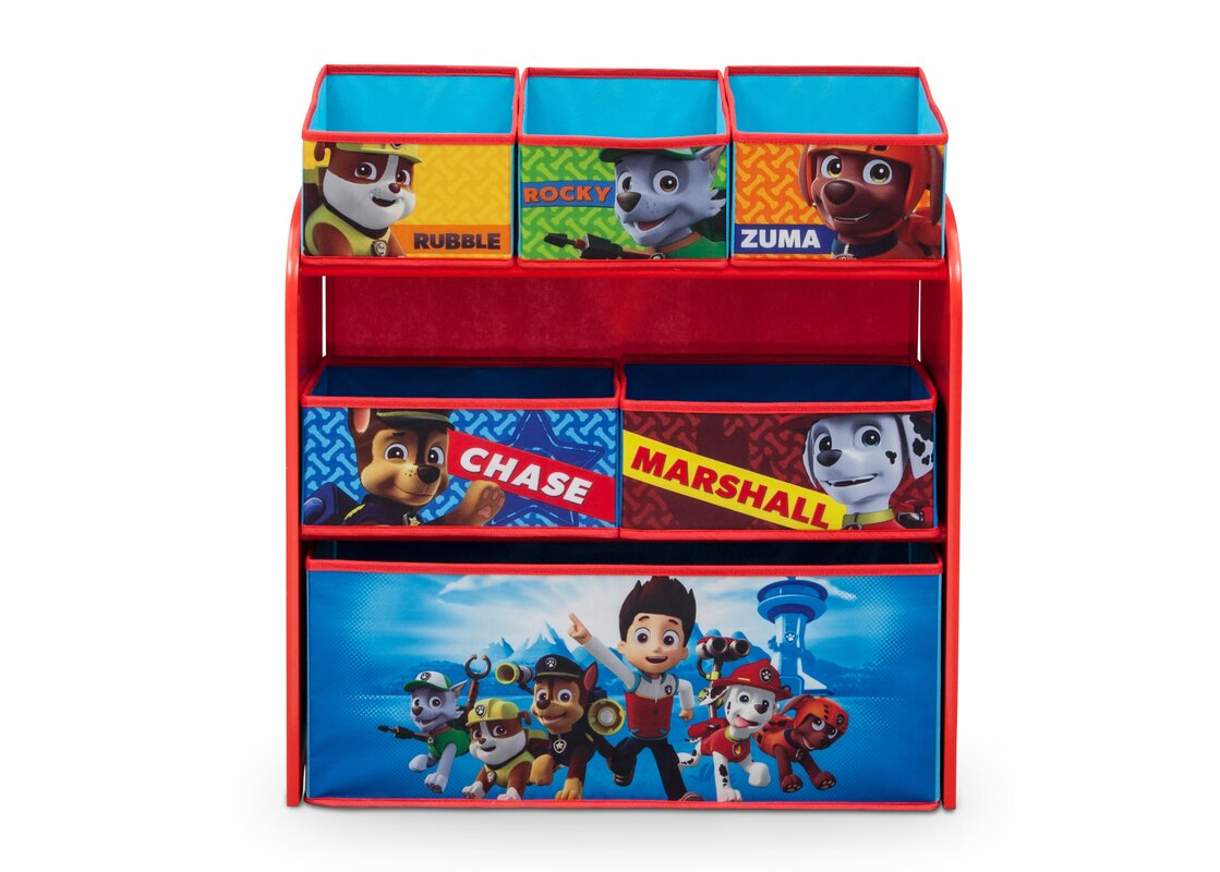 Nick Jr. PAW Patrol Toy Organizer