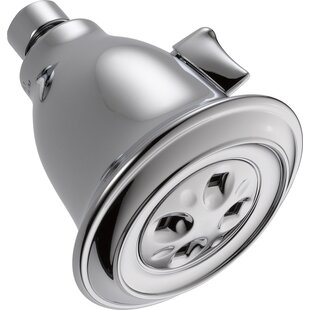 Delta Universal Showering Components Contemporary 2 GPM Shower Head with H2okinetic Technology