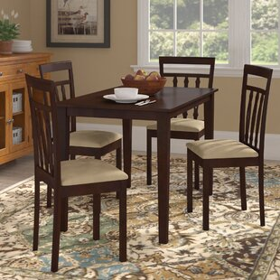 Vivien 5 Piece Dining Set August Grove