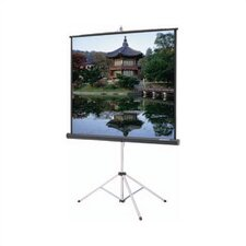 Carpeted Picture King Matte Gray 106 Diagonal Portable Projection Screen by Da-Lite