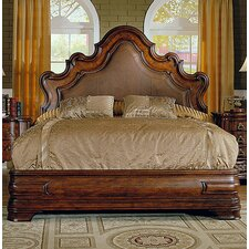 Palladio King Upholstered Platform Bed by Eastern Legends