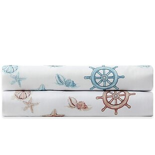 Nautical 300 Thread Count Cotton Sheet Set