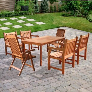 Ehlert 7 Piece Dining Set