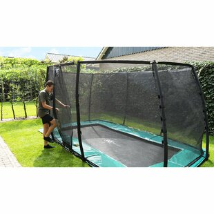 Supreme 14' Backyard In-Ground With Safety Enclosure By Exit Toys