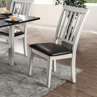 Hinkle Upholstered Dining Chair (Set of 2) Breakwater Bay