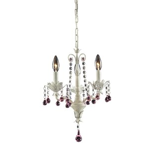 Reviews Darrius 3-Light Candle Style Chandelier By Viv + Rae