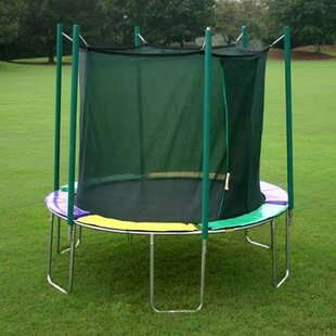 Kidwise 12' Round Magic Circle Trampoline with Enclosure