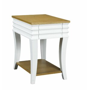 Haussman End Table with Storage by French He..