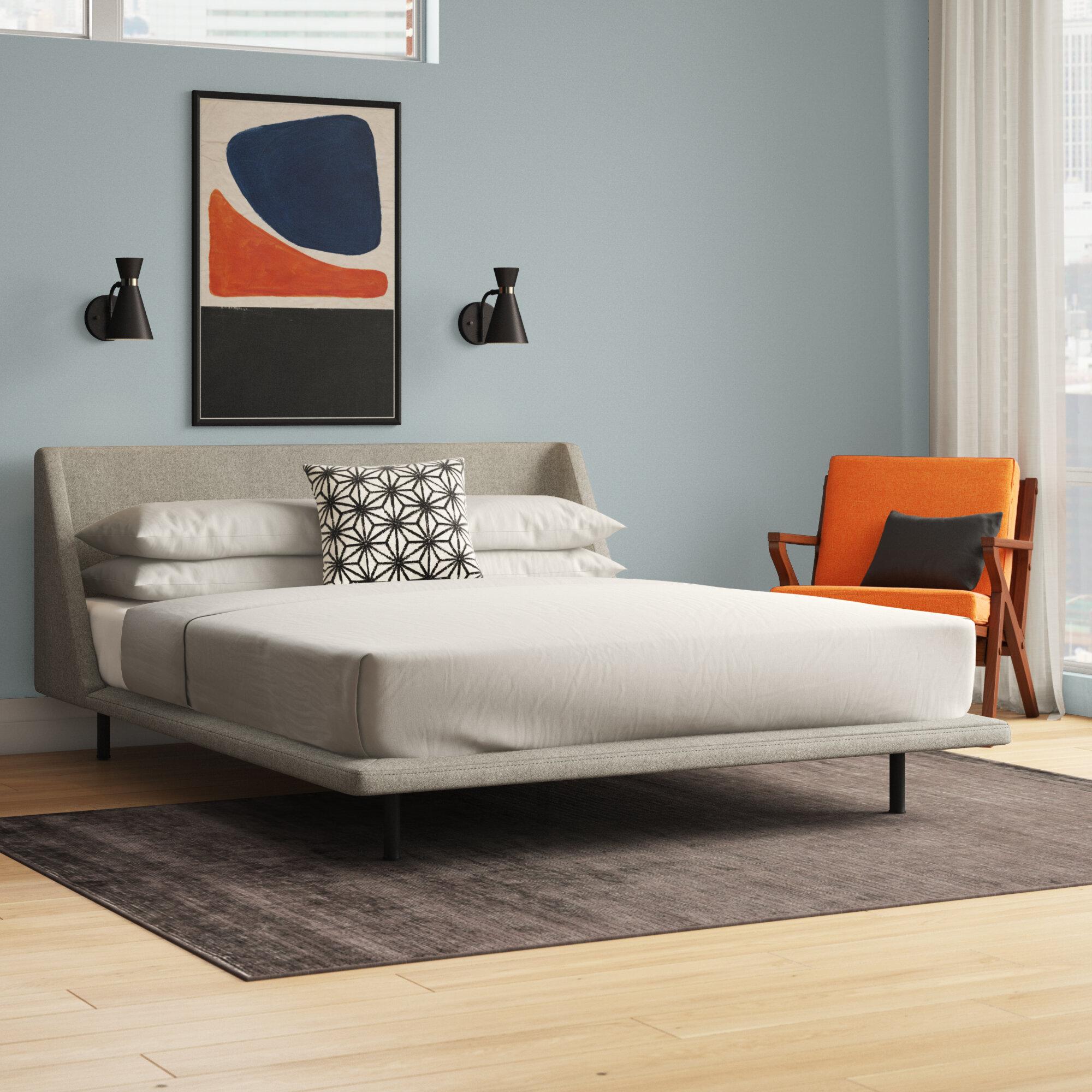 Nook Upholstered Platform Bed Reviews Allmodern