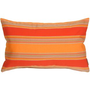 Osceola Salsa Outdoor Sunbrella Lumbar Pillow by Latitude Run