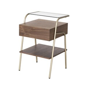 Coons End Table with Storage