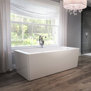 "Bianca® 66"" x 36"" Freestanding Soaking Bathtub"