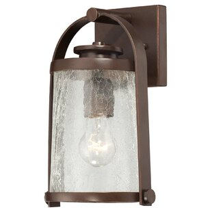 Read Reviews Travessa 1-Light Outdoor Wall Lantern By Great Outdoors by Minka