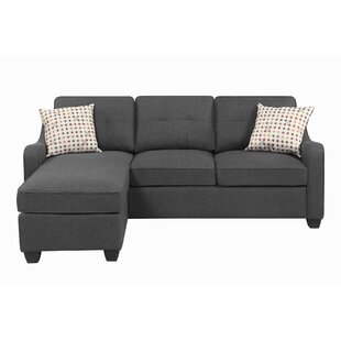 Alanson Reversible Sectional by Wrought Studio Great price