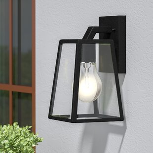 Affordable Price Wyndham 1-Light Outdoor Wall Lantern By Darby Home Co